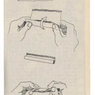 Dessin tiré d'Abbie Hoffmann, How to Steel a Book (1971)