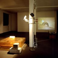Bruce Naumann, Learned Helplessness for Rats, installation multimédia, 1988