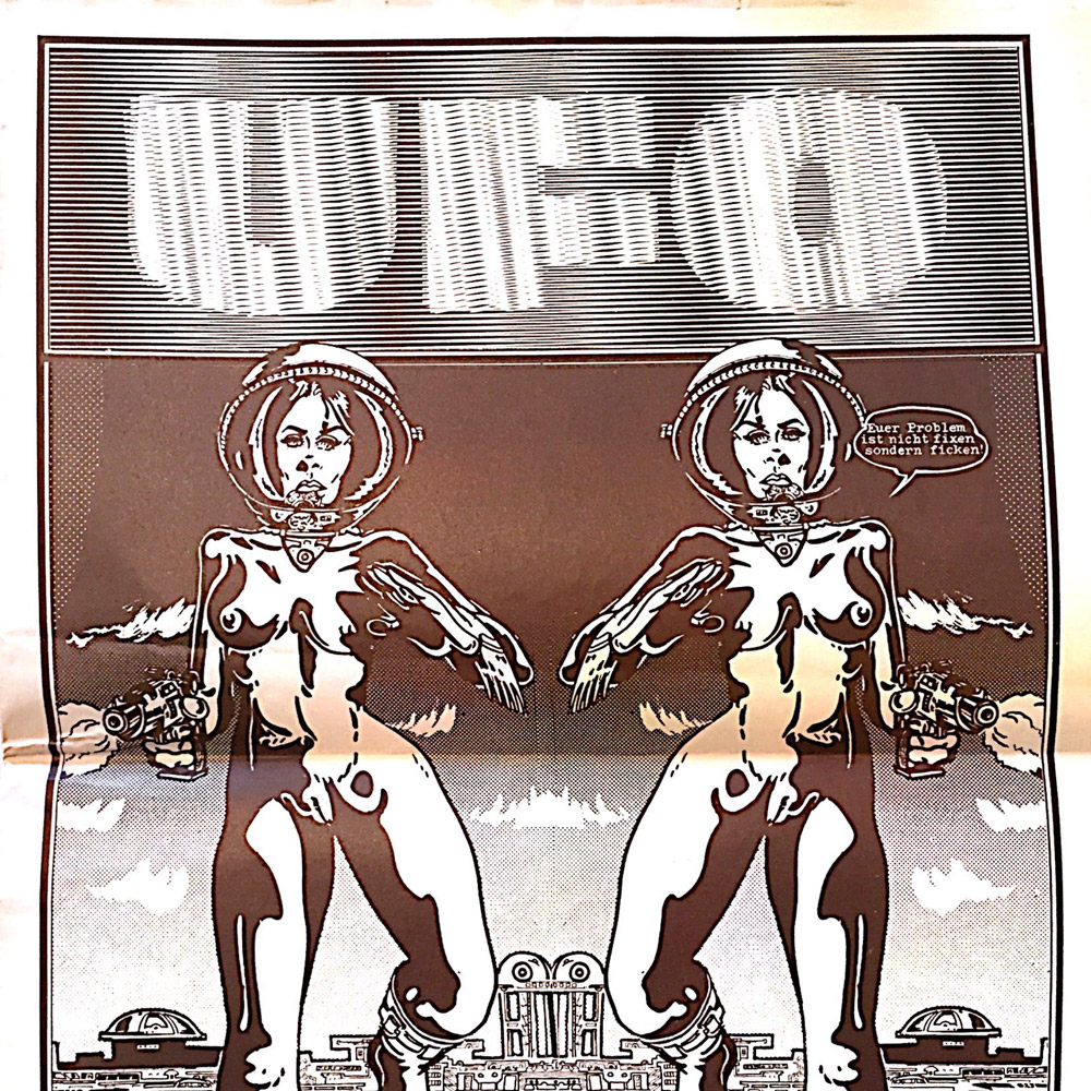 Breger, Udo (éd.)(1971), UFO no 2, Francfort: Expanded Media Editions
